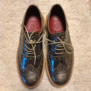 シンゾーン(Shinzone)のおゆきさま専用 未使用 グレンソン ウイングチップ 23㎝(ローファー/革靴)
