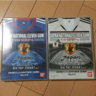 バンダイ(BANDAI)のサッカー 日本代表 DVD(記念品/関連グッズ)