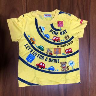 ミキハウス(mikihouse)のMIKIHOUSE プッチー 車 Tシャツ 80(Tシャツ)