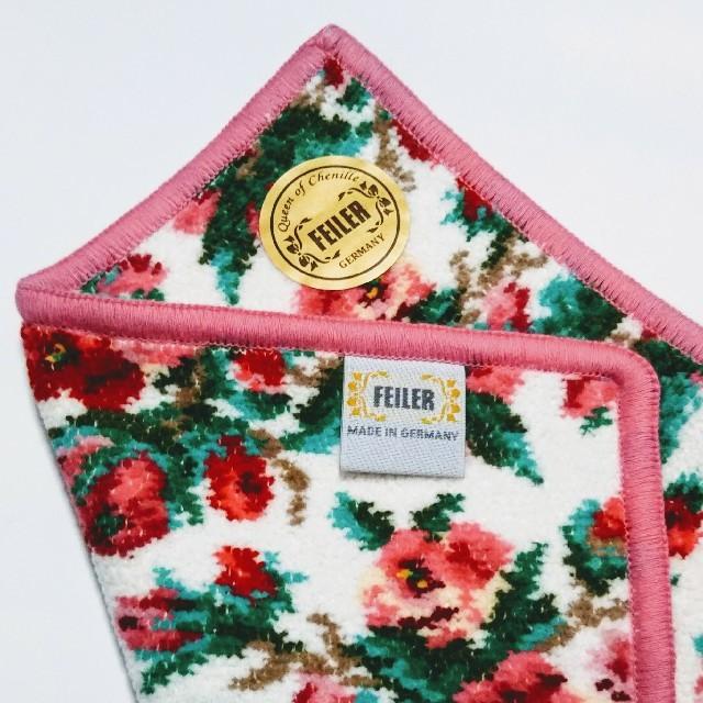 FEILER(フェイラー)の新品  フェイラー ハンカチ  リアローズ レディースのファッション小物(ハンカチ)の商品写真