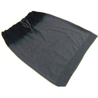 サンローラン(Saint Laurent)のYSLイヴサンローラングラデーションスカート新品 L75(ひざ丈スカート)