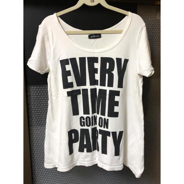 しまむら(シマムラ)のTシャツ レディースのトップス(Tシャツ(半袖/袖なし))の商品写真