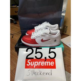 Supreme - Supreme Nike Sb Dunk Low Pro 25.5