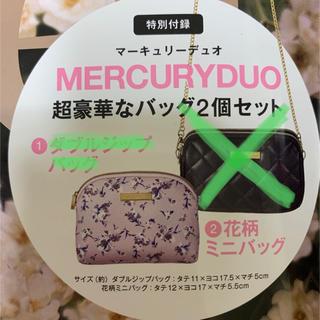 マーキュリーデュオ(MERCURYDUO)のマーキュリーデオ 花柄ミニバッグ(ショルダーバッグ)