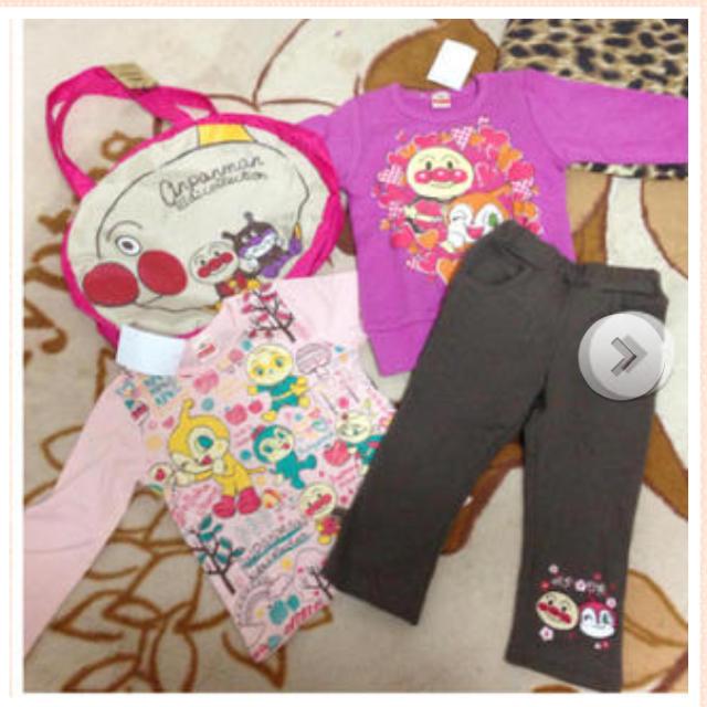 BANDAI(バンダイ)の半額❥新品タグ付きアンパンマン福袋 キッズ/ベビー/マタニティのキッズ服女の子用(90cm~)(その他)の商品写真