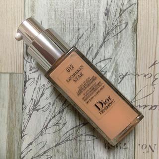 ディオール(Dior)のディオール スキン スター フルイド リキッド ファンデーション 012(ファンデーション)