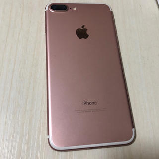 Apple - iPhone7 Plus Rose Gold 128GB SIMフリー