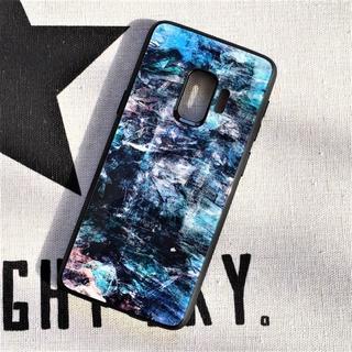 galaxy ギャラクシー s9 s10 ケース グラデーション ブルー