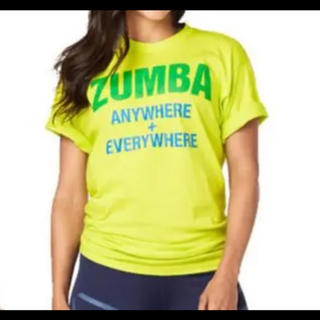 Zumba - 最新作 zumba ウェア  ライムグリーン