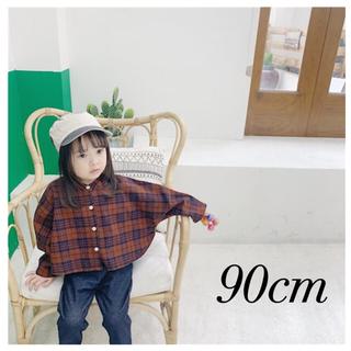petit main - 新品  韓国子供服 チェックシャツ ネルシャツ シャツ カーディガン