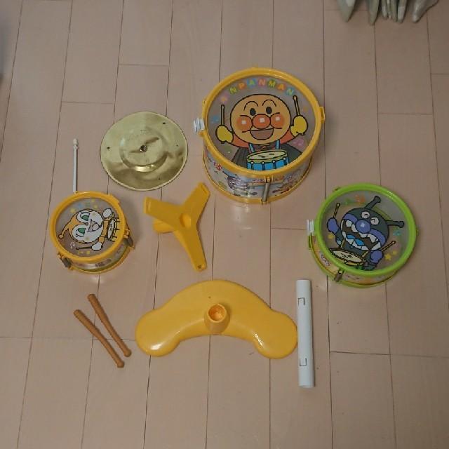 アンパンマン(アンパンマン)の組み立て式 アンパンマン ドラム キッズ/ベビー/マタニティのおもちゃ(楽器のおもちゃ)の商品写真