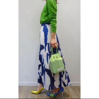 ENFOLD - 新品タグ付き ENFOLD ペーパープリーツスカート 36