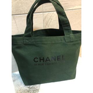 CHANEL - CHANEL キャンバス トートバッグ シャネル トート マザーズバッグ