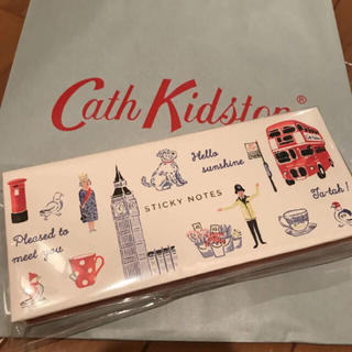 キャスキッドソン(Cath Kidston)の新品☆キャスキッドソン  付箋ノートのセット(ノート/メモ帳/ふせん)