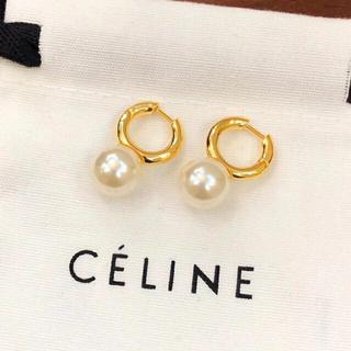 celine - celine パールピアス