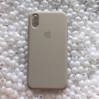 Apple - iPhoneXs ストーン 箱なし アップル シリコン ケース 純正 シリコーン