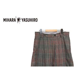 ミハラヤスヒロ(MIHARAYASUHIRO)のMIHARA YASUHIRO ラップ スカート スラックス / パンツ(スラックス)