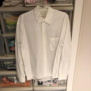 マルニ(Marni)のmarni 白シャツ 44(シャツ)