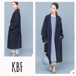 KBF - KBFケービーエフ デニムガウンコート