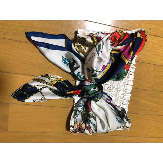 Lily Brown(リリーブラウン)のリリーブラウン 期間限定値下げ スカーフベルト ビスチェ スカーフ柄 レディースのファッション小物(バンダナ/スカーフ)の商品写真