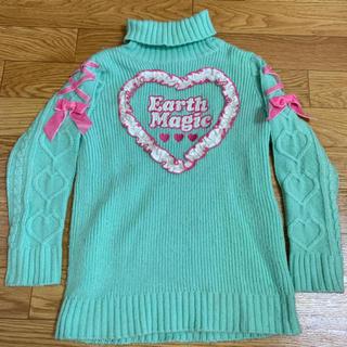 アースマジック(EARTHMAGIC)のセーター(ニット)