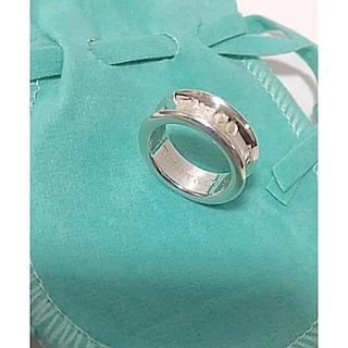 ティファニー(Tiffany & Co.)の★*゜Tiffany & Co.sv925/ナローワイドリング8号✨(リング(指輪))