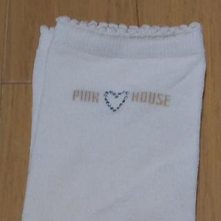 ピンクハウス(PINK HOUSE)の🍒ピンクハウス未使用ハイソックス🍒(ソックス)