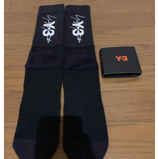 ワイスリー(Y-3)の19SS Y-3 TUBE SOCK ロゴ靴下(ソックス)