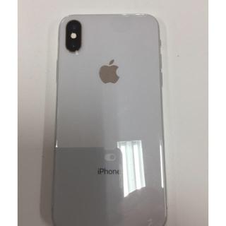 iPhone - iPhone x 64GB シルバー SIMフリー Apple Store購入