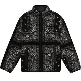 Supreme - Supreme Reversible Bandana Fleece Jacket