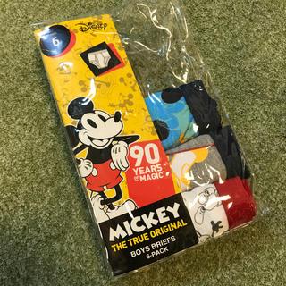 ディズニー(Disney)の【ひろ様専用です】ミッキー パンツ 6T 新品・未使用(下着)
