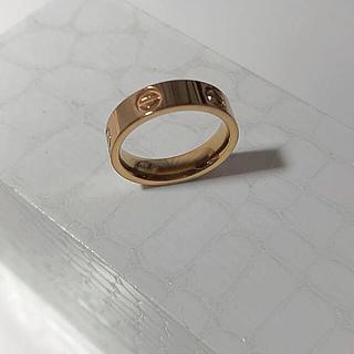 カルティエ(Cartier)のビス リング トラベルジュエリー ピンクゴールドカラー(リング(指輪))