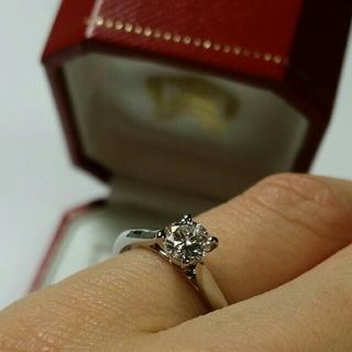 Cartier - 売切り大特価!カルティエ ソリテール 0.35ct Pt950 サイズ47