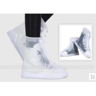 靴の上からそのまま履ける男女兼用レインシューズカバー(レインブーツ/長靴)