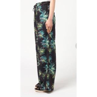 ステューシー(STUSSY)のstussy palm wide pants(ステューシー ズボン(カジュアルパンツ)