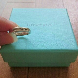 Tiffany & Co. - Tiffany & Co. ナロー シルバー リング #12
