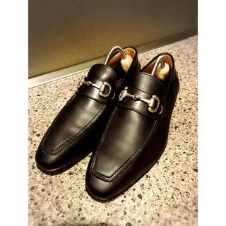 クロケットアンドジョーンズ(Crockett&Jones)のDI MELLA ディメッラ ビットローファー  24.5㎝ 革靴 美品 (ドレス/ビジネス)