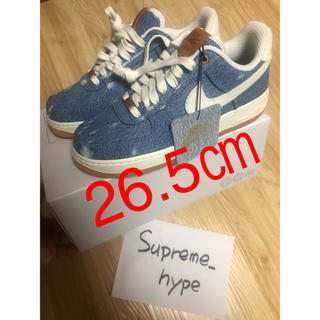 NIKE - 26.5㎝【NIKE by you × Levi's】AIR FORCE 1