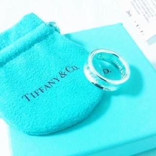 ティファニー(Tiffany & Co.)の☆新品☆未使用☆ティファニー 1837ロゴリング12号 Tiffany & Co(ネックレス)
