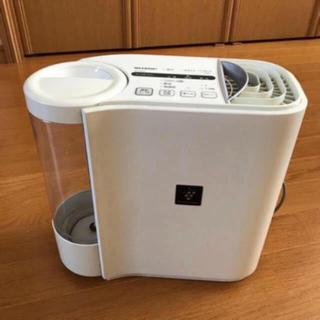 SHARPプラズマクラスター HVY30CXW気化式加湿器 中古(加湿器/除湿機)