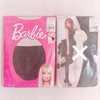 バービー(Barbie)の♡ニーハイ ガーター 風タイツ♡(タイツ/ストッキング)