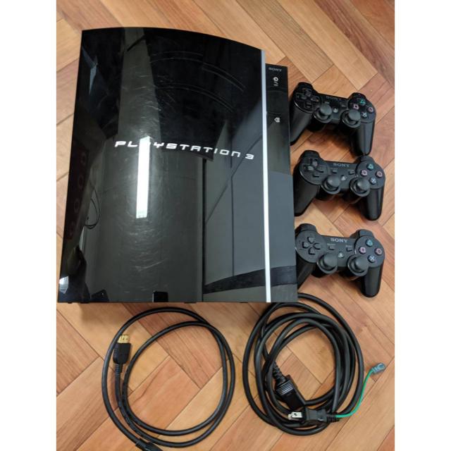 PlayStation3(プレイステーション3)のPS3 プレイステーション3 本体 cechl00 エンタメ/ホビーのゲームソフト/ゲーム機本体(家庭用ゲーム機本体)の商品写真