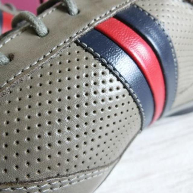 madras(マドラス)のマドラス ヴィアカミーノ レザーカジュアルシューズ グレー 25.0cm メンズの靴/シューズ(スニーカー)の商品写真