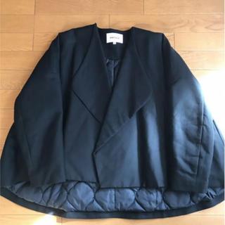 ENFOLD - enfold  エンフォルド ショートコート ジャケット 黒 ブラック