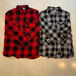 H&M - H&M チェックシャツ