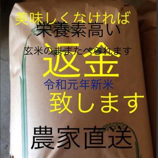 最高級 渡部家の新米こしひかり 25㎏玄米 有機栽培