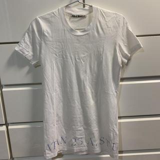 アクネ(ACNE)のTシャツ acne studios  美品(Tシャツ(半袖/袖なし))