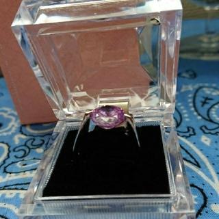 大粒キュービックジルコニアsilver指輪(リング(指輪))