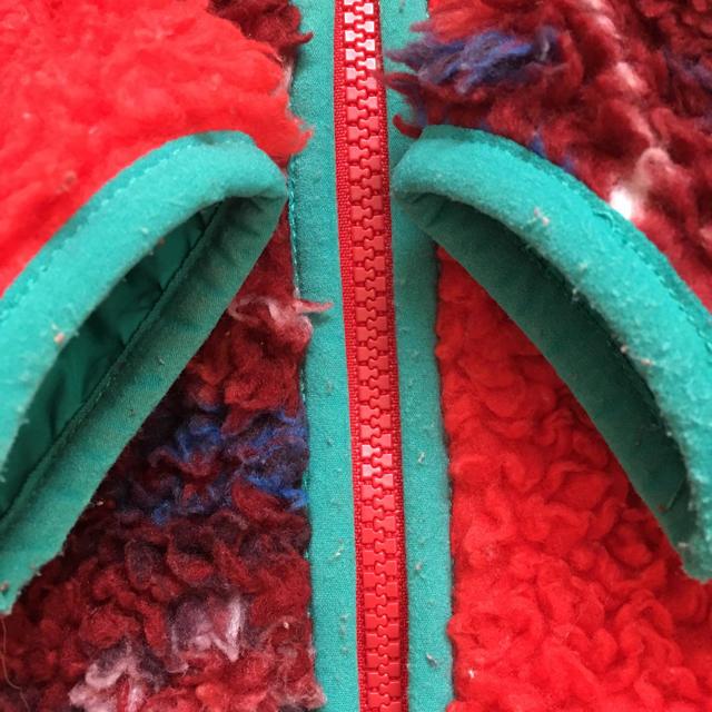 patagonia(パタゴニア)のパタゴニア ボア アウター クレイジー レトロX 12m キッズ/ベビー/マタニティのキッズ服 女の子用(90cm~)(ジャケット/上着)の商品写真