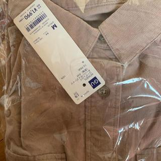 GU - コーデュロイオーバーサイズシャツ